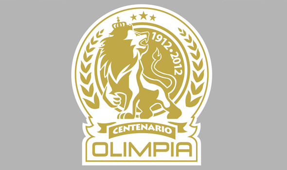Logo del Centenario de Olimpia