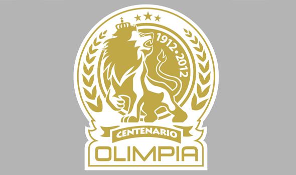 Logo del Centenario de Olimpia