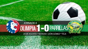 Parrillas One 0-1 Olimpia | Jornada 4