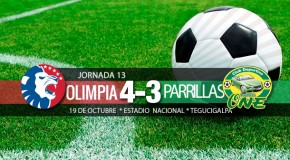 Olimpia 4-3 Parrillas One | Jornada 13