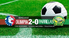 Olimpia 2-0 Parrillas One