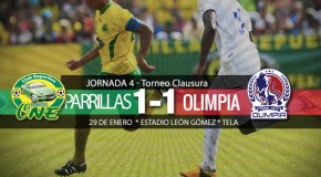 Parrillas One 1-1 Olimpia