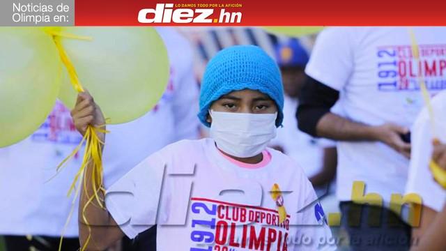 Olimpia realizó un donativo para la Fundación Hondureña para el Niño con Cáncer